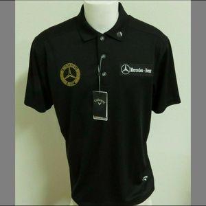 New Sz L Callaway Opti-Dri Mens db #34Z Golf Polo